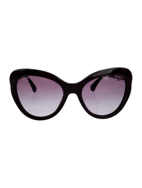 Chanel Cat-Eye Bijou Sunglasses
