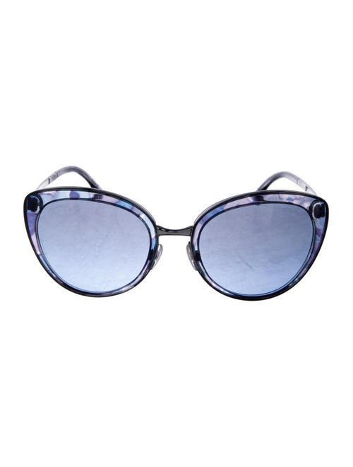 Chanel Butterfly Signature Sunglasses Blue