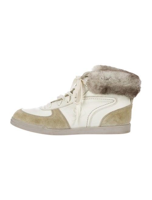 fa4948bf3076 Chanel Chinchilla Sneakers - Shoes - CHA38767 | The RealReal
