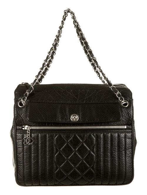 b050303dac9d Chanel Perforated 50's Tote - Handbags - CHA39050 | The RealReal
