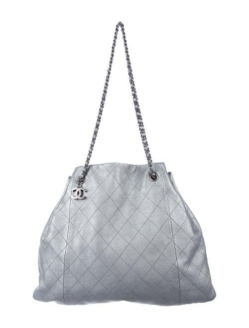 Chanel Metallic Drawstring Bag Metallic