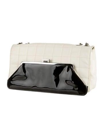 Square Quilt Flap Bag