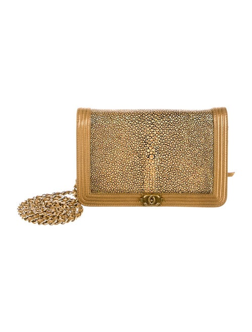 bda73890a0ca87 Chanel Stingray Boy WOC Bag - Handbags - CHA40020 | The RealReal