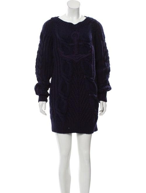 2018 Paris Hamburg Wool & Cashmere Blend Dress by Chanel