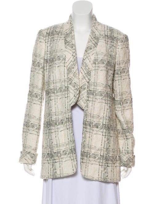 Chanel Tweed Jacket Black