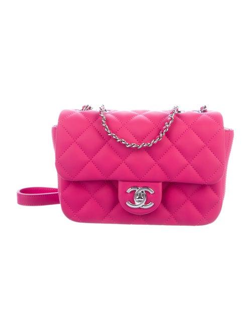 Chanel Coco Rain Small Flap Bag Magenta