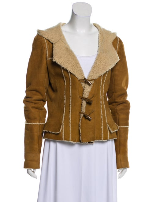 Chanel Shearling Hooded Jacket