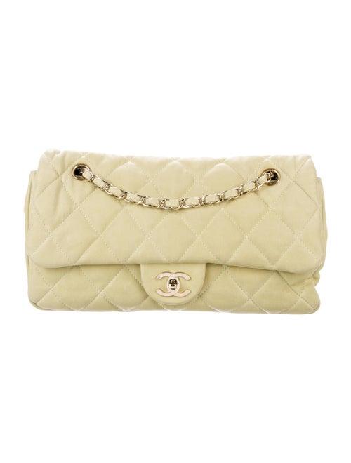 Chanel Soft Jumbo Flap Bag Lime
