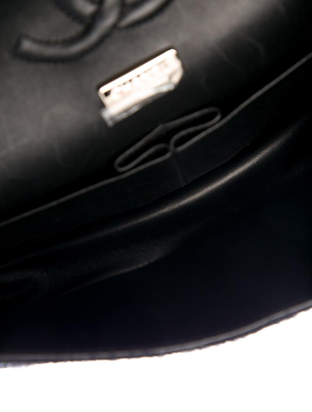 Chanel Enamel Jeweled Tweed Flap Bag Black - image 5