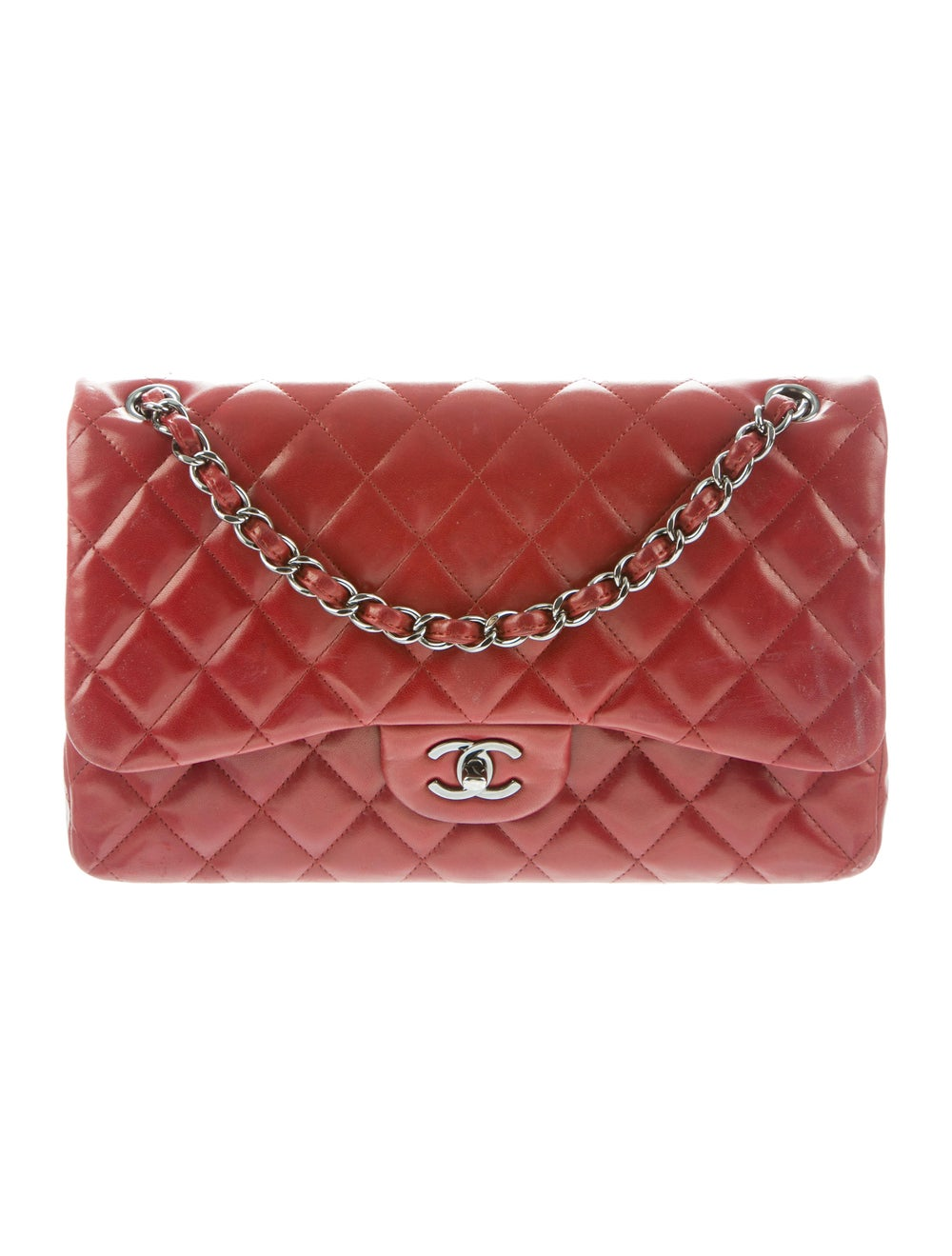 Chanel Jumbo Classic Double Flap Bag silver - image 1