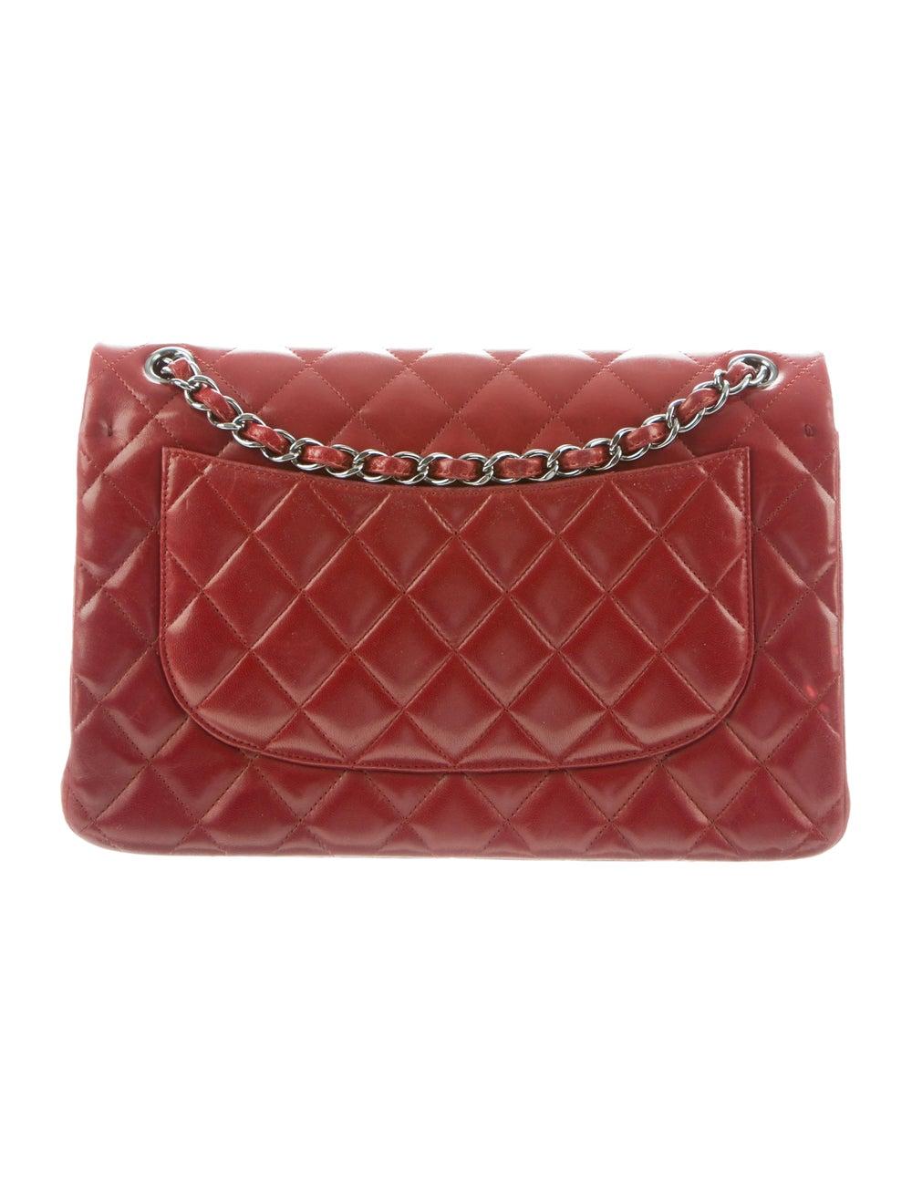 Chanel Jumbo Classic Double Flap Bag silver - image 4