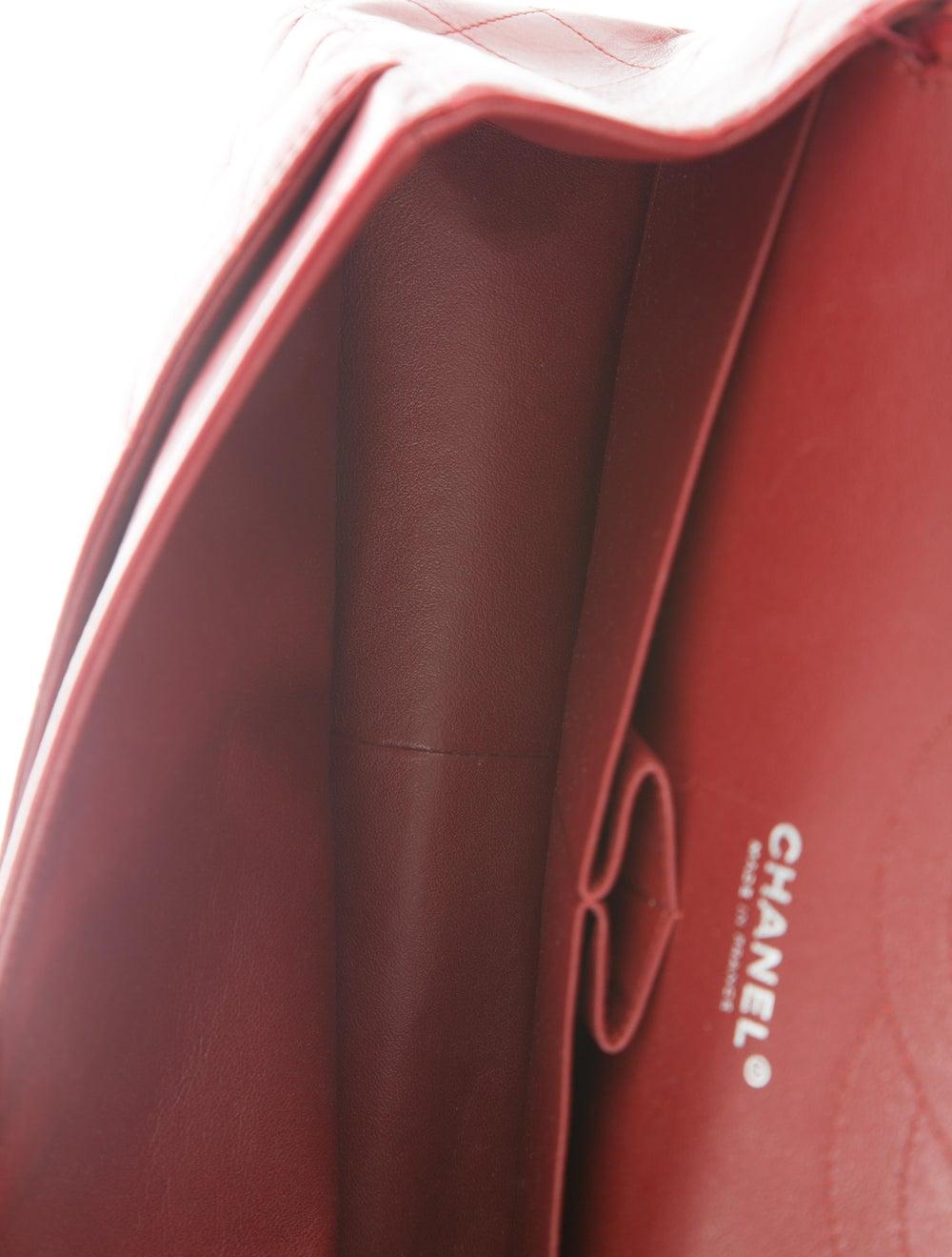 Chanel Jumbo Classic Double Flap Bag silver - image 5