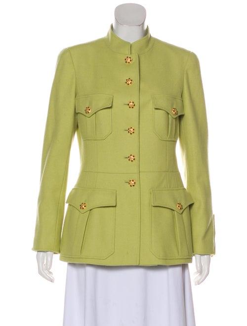 Chanel Vintage Wool Jacket Lime