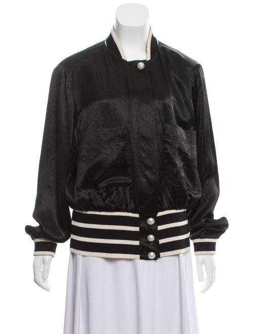 Chanel 2017 Bomber Jacket Black