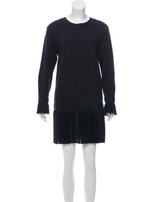 Chanel Pleated Mini Dress