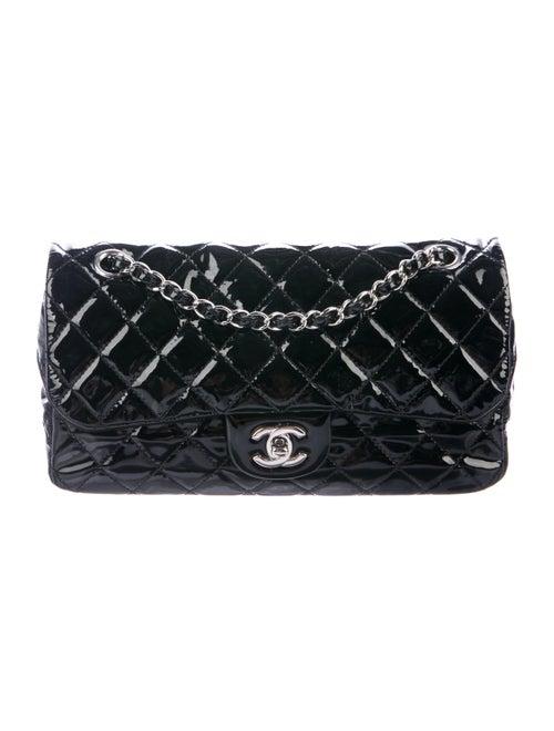 Chanel Crochet Bon Bon Tote w/Flap Bag Black