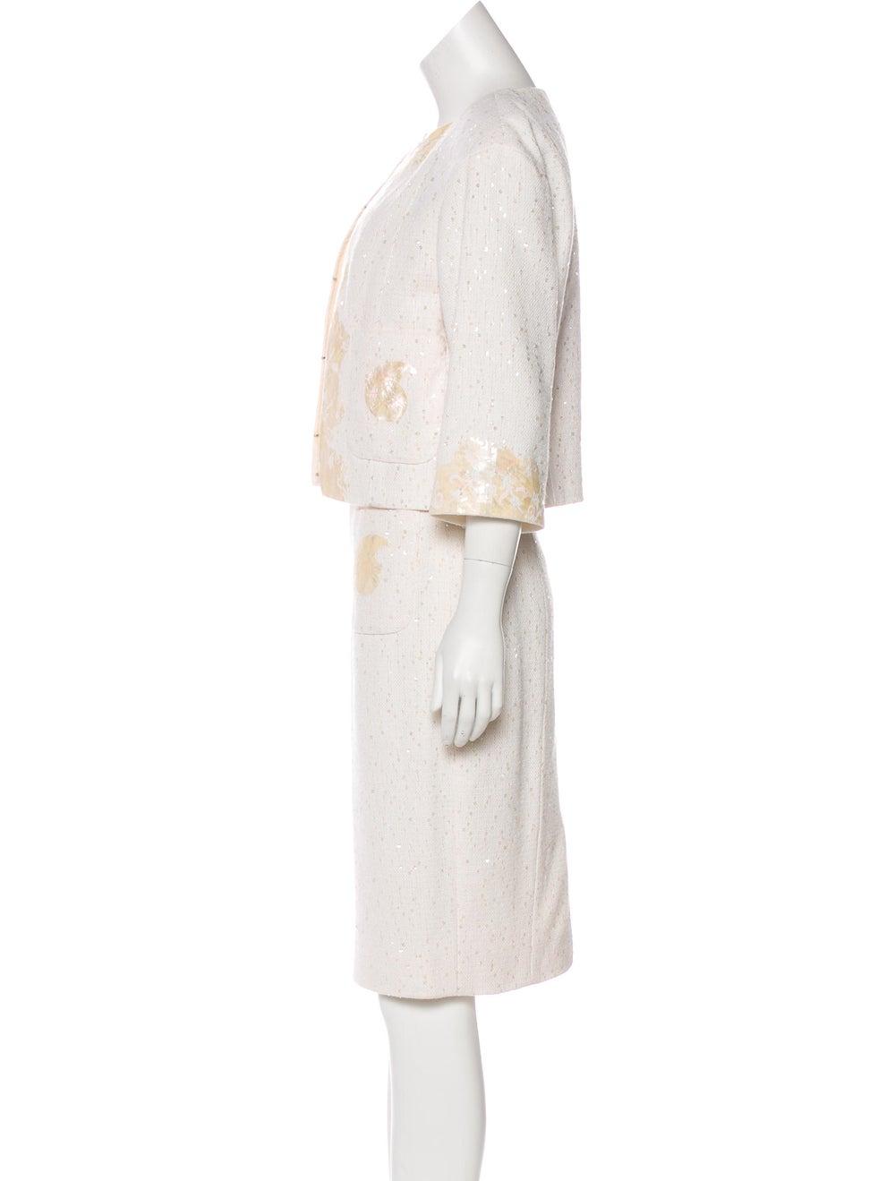 Chanel Embellished Tweed Dress Set - image 2