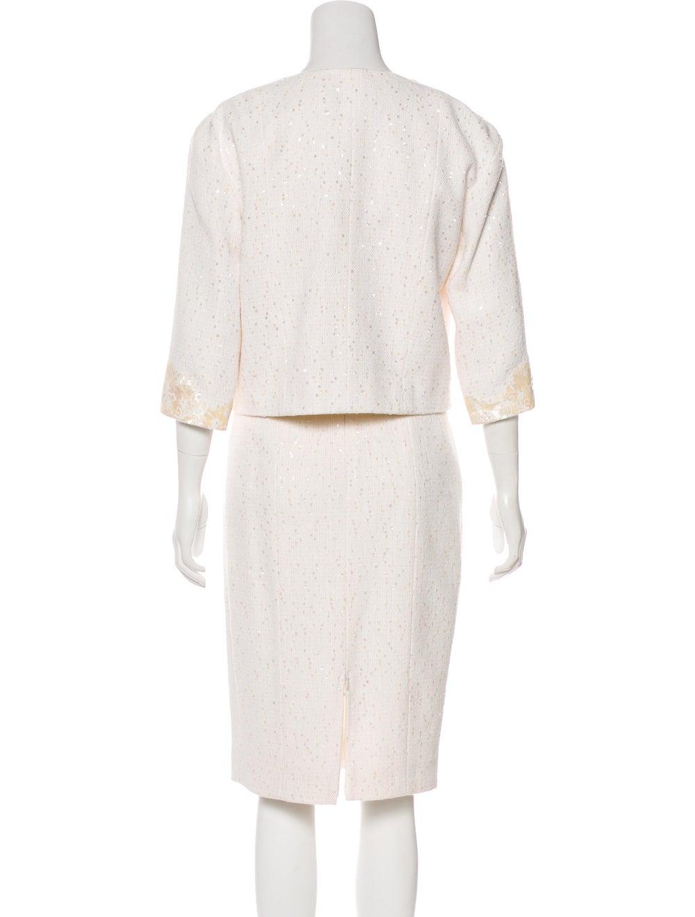 Chanel Embellished Tweed Dress Set - image 3