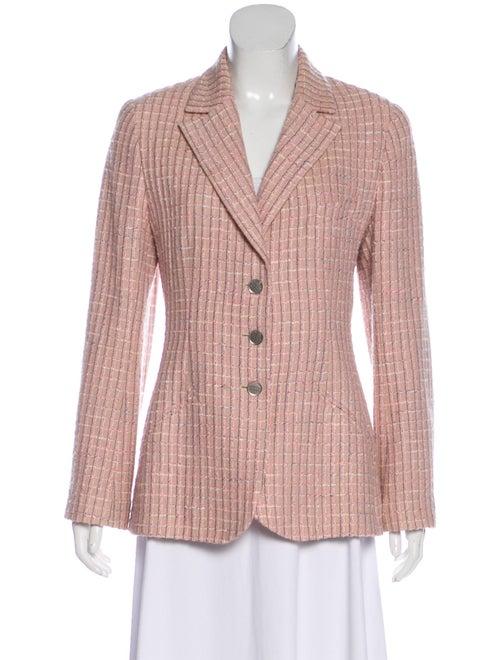Chanel Vintage Tweed Blazer Pink