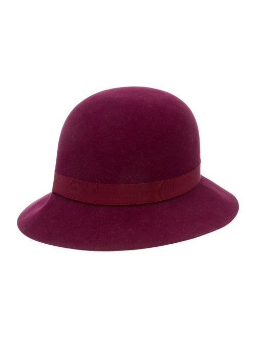 Chanel Suede Fedora Hat
