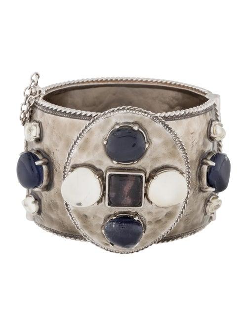 Chanel Resin CC Cuff Bracelet