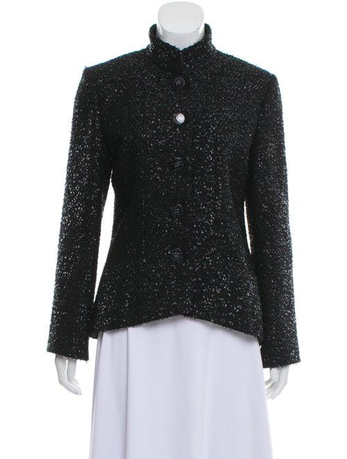 Chanel 2019 Tweed Jacket Black