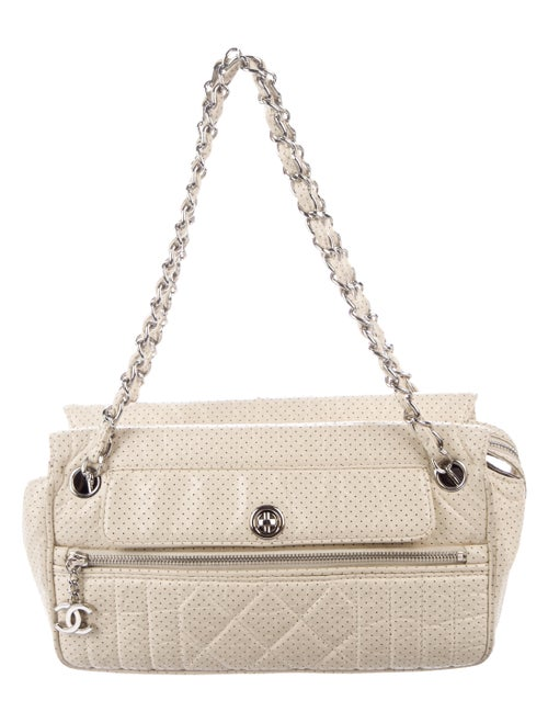 Chanel Perforated 50s Bag Beige