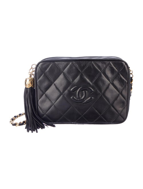 769875485f20 Chanel Vintage Lambskin Camera Bag - Handbags - CHA43923 | The RealReal