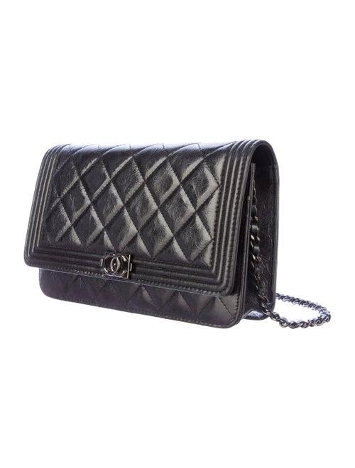 a3563f0f4c05 Chanel So Black Boy WOC Bag - Handbags - CHA44201 | The RealReal
