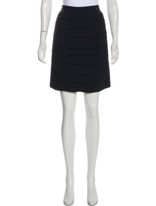 Chanel Paris-Shanghai Tiered Skirt Black - image 1