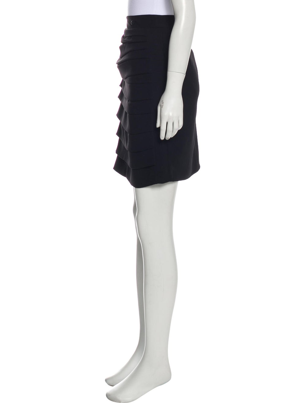 Chanel Paris-Shanghai Tiered Skirt Black - image 2