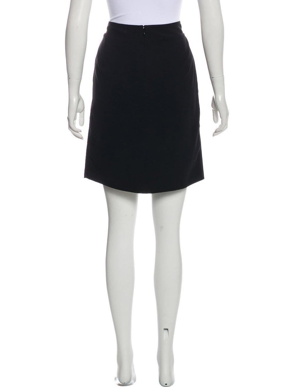 Chanel Paris-Shanghai Tiered Skirt Black - image 3