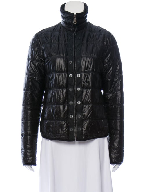 Chanel Quilted Short Jacket Black