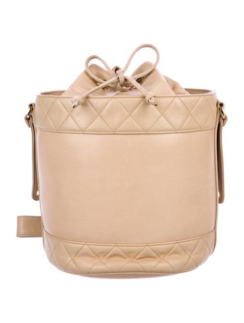Chanel Vintage Bucket Bag Beige
