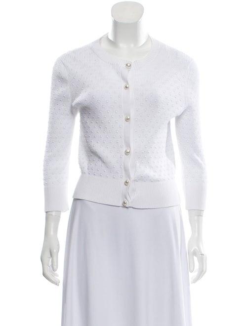 Chanel 2019 Knit Cardigan White