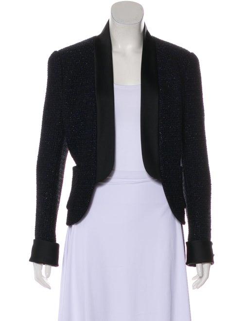 Chanel 2018 Tweed Jacket Navy