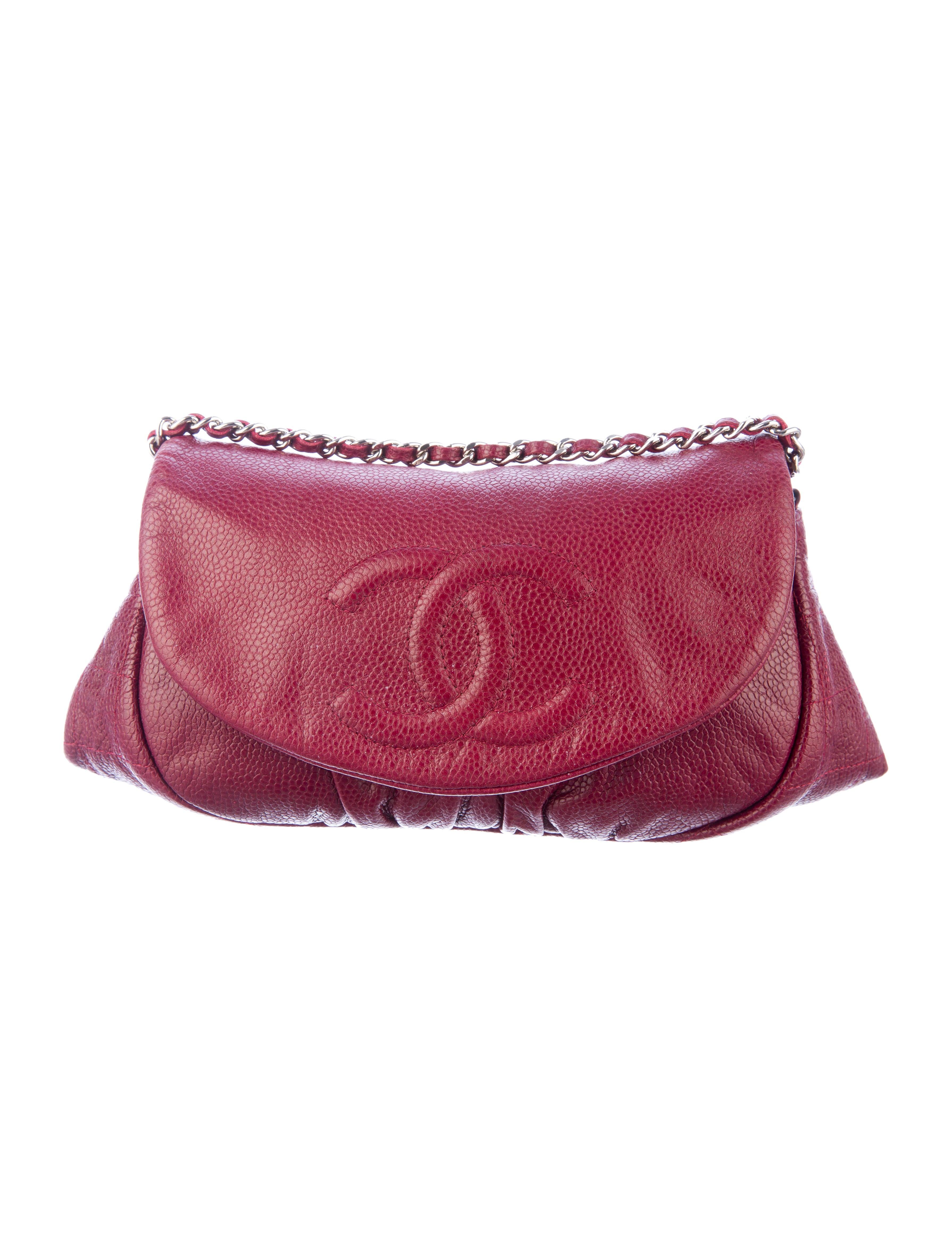4d6e384d366a Chanel Half Moon WOC Crossbody - Handbags - CHA45358