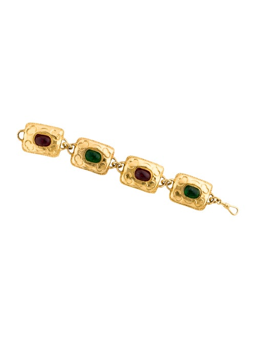 Chanel Gripoix Bracelet Gold