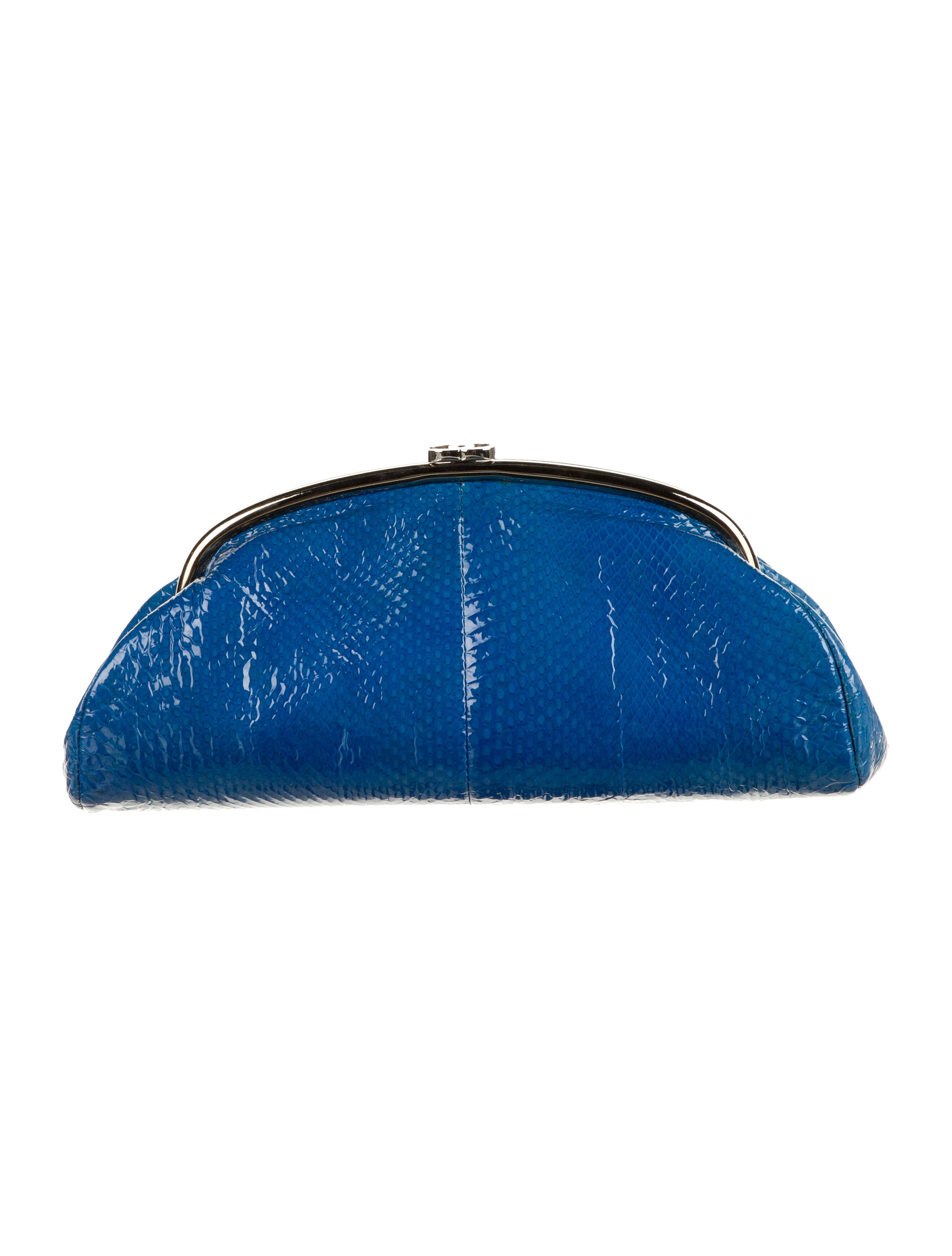 Chanel Python Timeless Clutch - Handbags -           CHA456457 | The RealReal