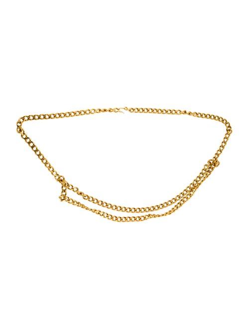 Chanel Metal Chain-Link Belt Gold