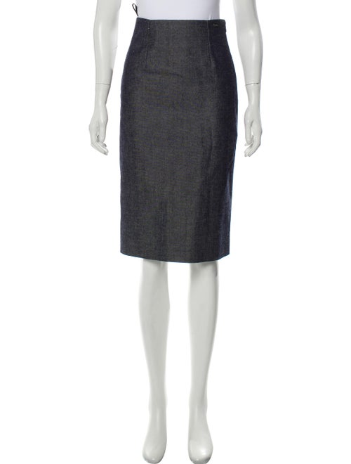 Chanel Knee-Length Pencil Skirt