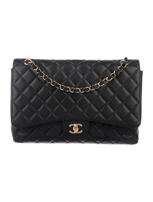 Chanel Classic Maxi Single Flap Bag Black