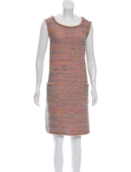 Chanel 2017 Mini Dress Pink