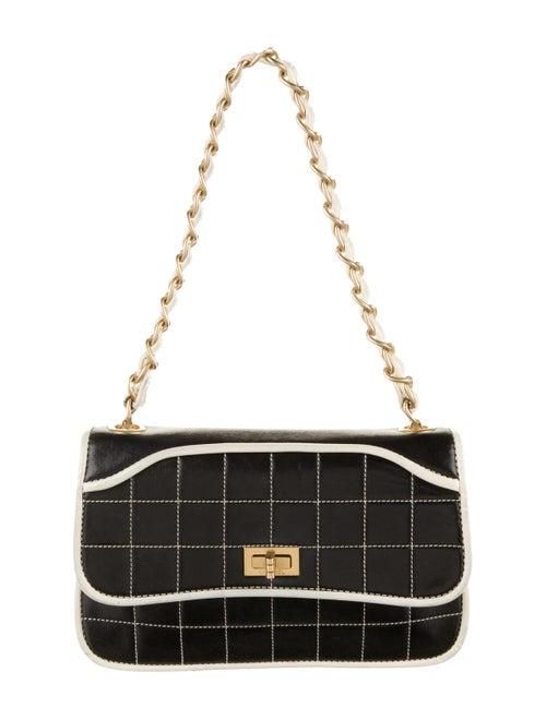 Chanel Square Quilt Reissue Flap Bag Black