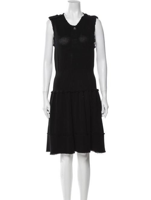 Chanel 2016 Mini Dress Black