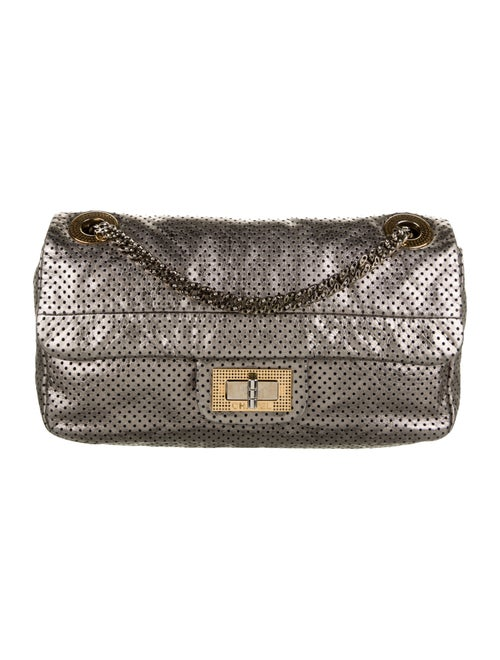 Chanel Perforated Drill Flap Bag Metallic