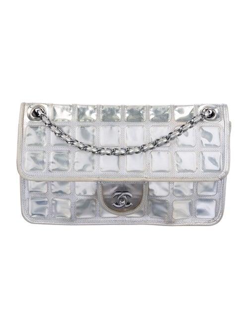 Chanel Ice Cube Flap Bag Metallic