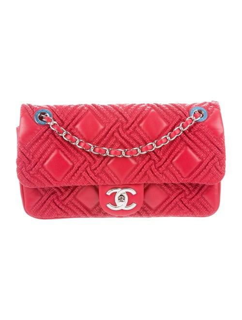 Chanel Walk Of Fame Flap Bag Red