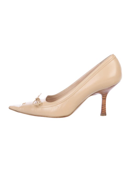 Chanel Chanel Leather Pump Heels Nude