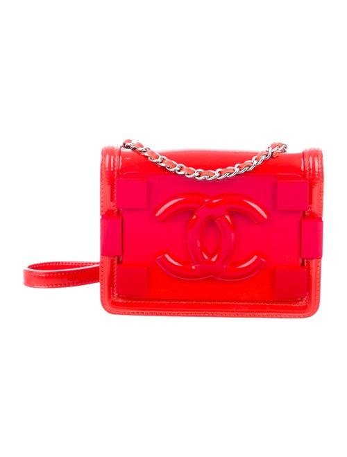 Chanel Boy Brick Flap Bag Orange